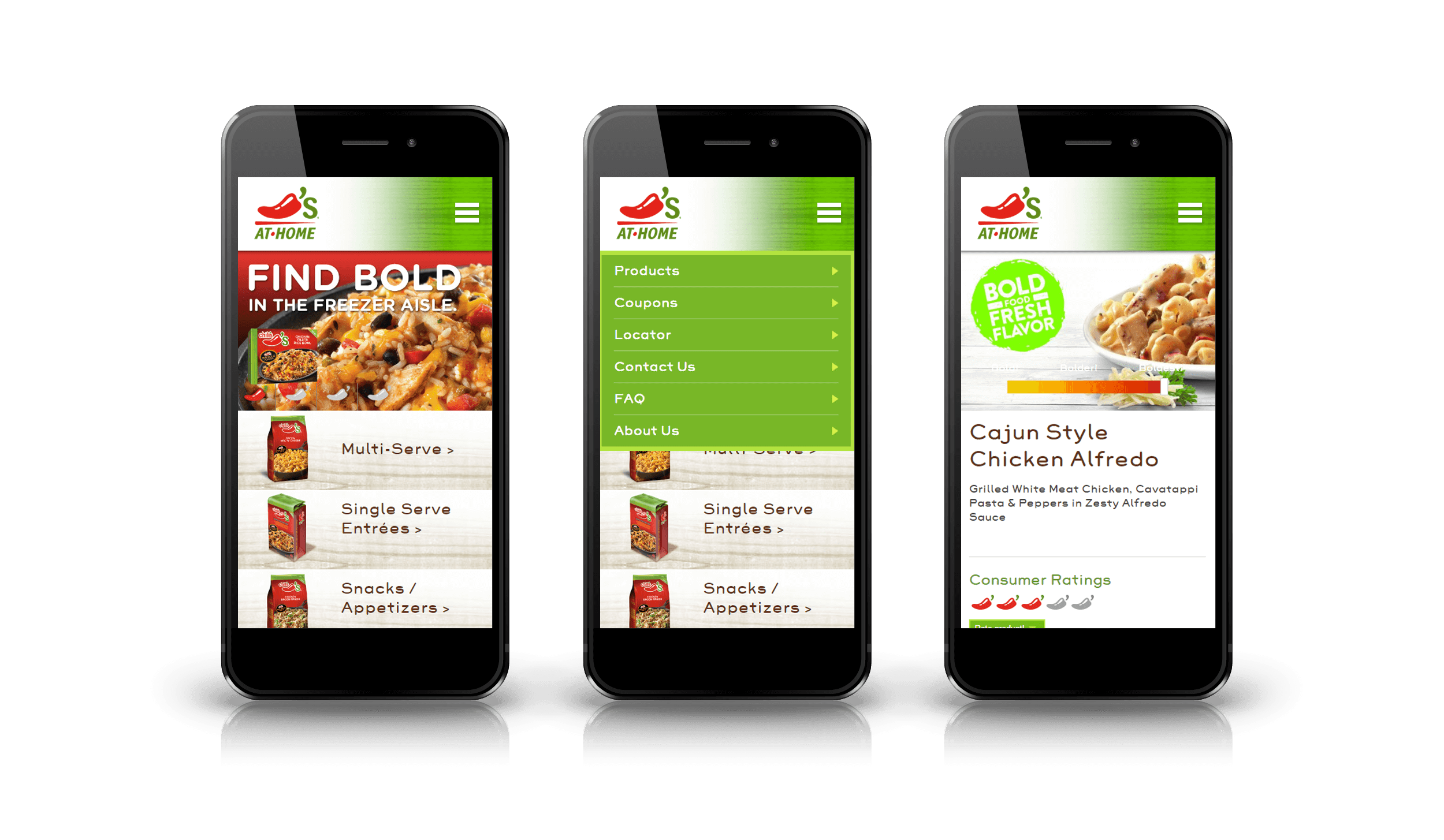 Pixelnation Project: Chilis at Home Mobile Design